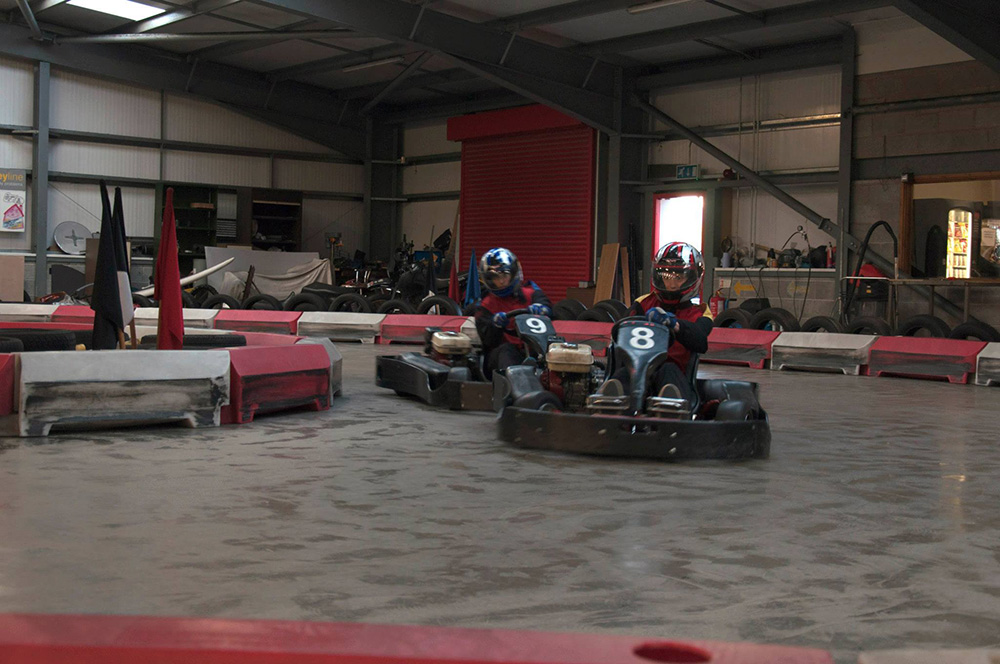 Redline Indoor Karting Go Karting Track In Caernarfon