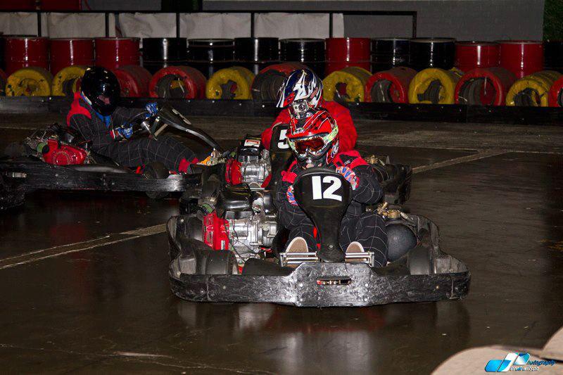 Eddie Irvine Sports Go Karting Track In Bangor Down