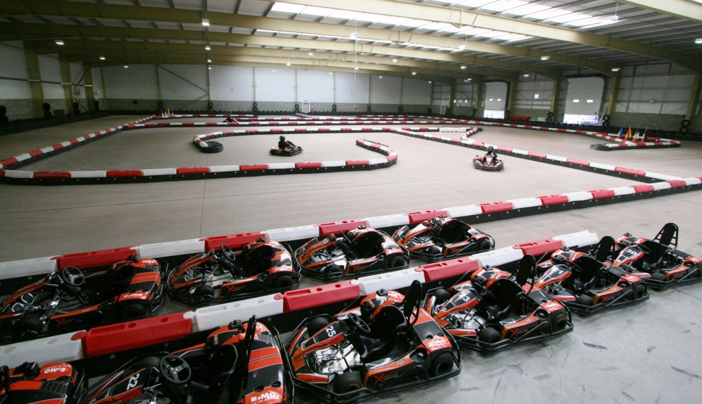 Xtreme Karting Edinburgh Go Karting Track In Edinburgh