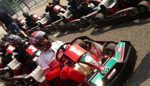 Glan y Gors Park Karting Circuit Photo