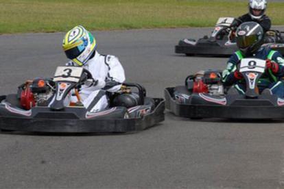 Ancaster Kart Racing Photo
