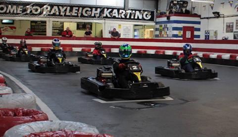 Rayleigh Karting Photo