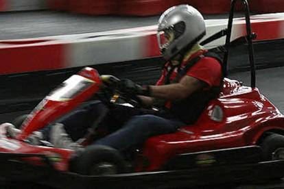 Indoor Super Karting Photo