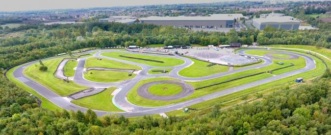 Three Sisters Race Circuit Go Karting Track In Wigan