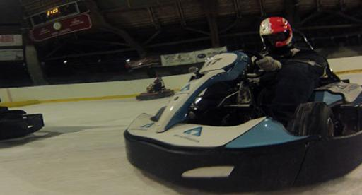 Ice Karting London Photo