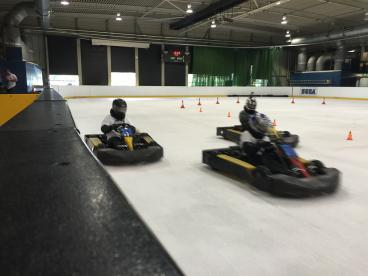 Karting On Ice London Photo