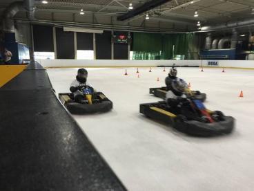 Karting On Ice - Planet Ice Arena Photo