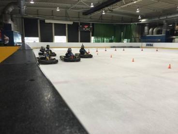 Karting On Ice – Hemel Hempstead Ice Rink Photo