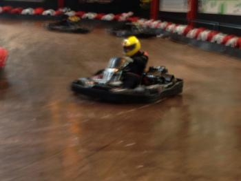 Scotkart Indoor Kart Racing Glasgow West Photo
