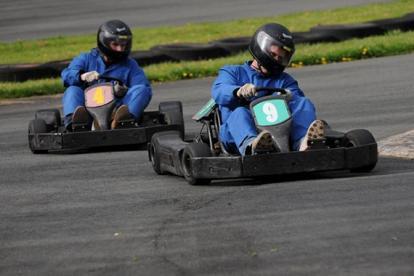 Border Kart Racing Photo